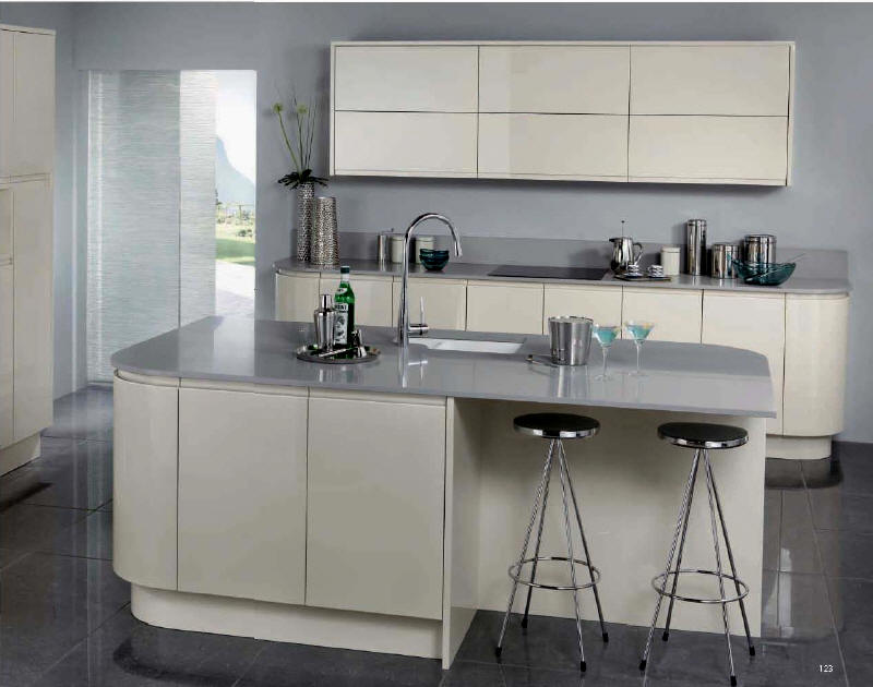 Kitchen Style - SARAYA LATTE - from Fitted Kitchens Direct