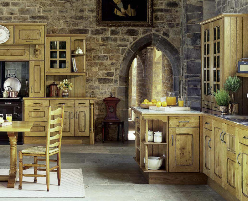 Kitchen cabinets door styles - Kitchen Style Tintagel Rustic From Fitted Kitchens